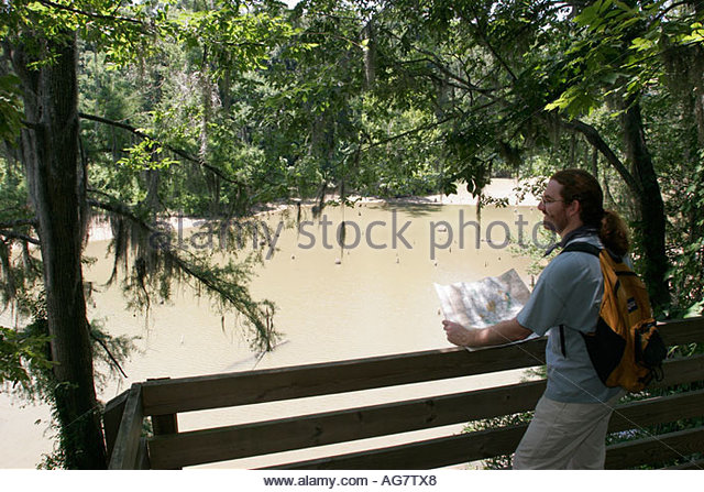 Alabama Orrville Old Cahawba Archeological Village former state capital 1820 Cahaba River Nature Trail - Stock Image