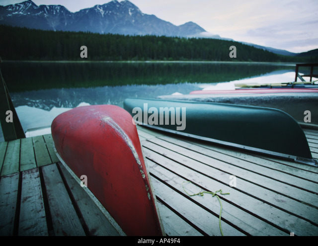 Boats on a dock - Stock Image