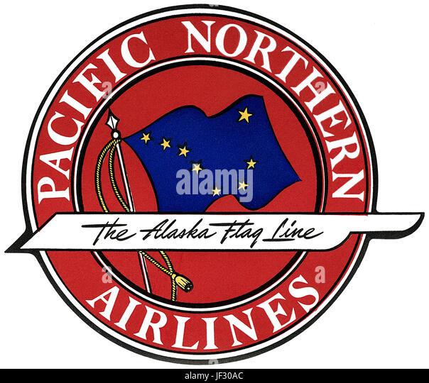 Vintage Logo Airline Stock Photos & Vintage Logo Airline
