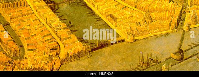 Cornelis Anthonisz. 003 detail 01 - Stock Image