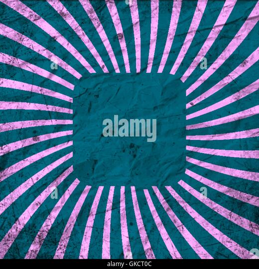 Vintage template. Rays. Abstract background with a blank texture. - Stock-Bilder