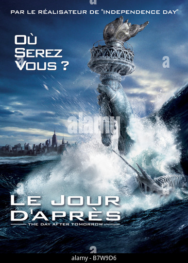 the day after tomorrow by roland The day after tomorrow - 2004 jack hall, paleoclimatologist, must make a daring trek from washington, dc to new york city, to reach his son, trapped in the cross-hairs of a sudden.