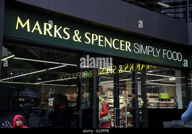 Marks And Spencer Simply Food Stores In London