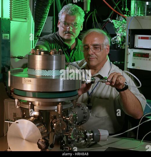 Development of ultrananocrystalline diamond films - Stock Image