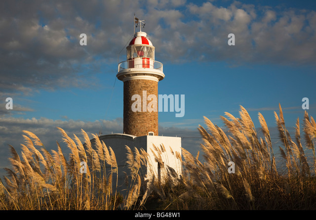 Uruguay, Montevideo, Punta Brava lighthouse, morning - Stock Image