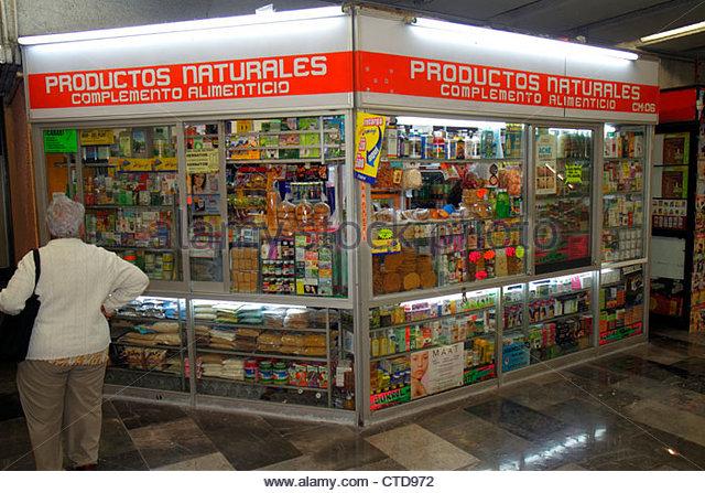 Mexico Mexico City DF D.F. Ciudad de México Federal District Distrito Federal Mexico City Metro subway Cuatro - Stock Image