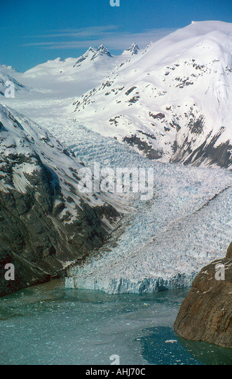 USA Alaska Glacier Bay. Photo by Willy Matheisl - Stock Image