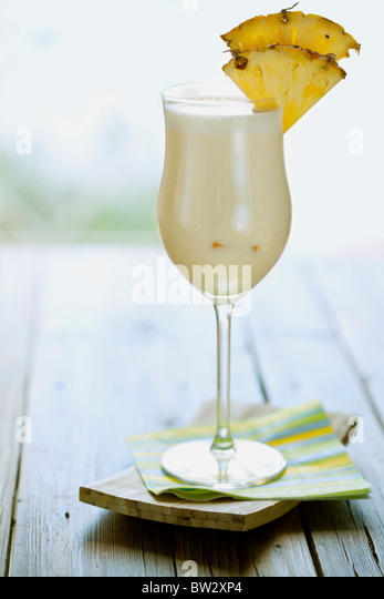 pina colada, styled contemporary - Stock Image
