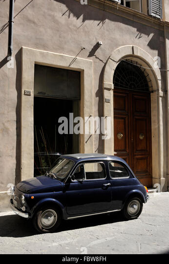 Parking A Car In Florence Italy