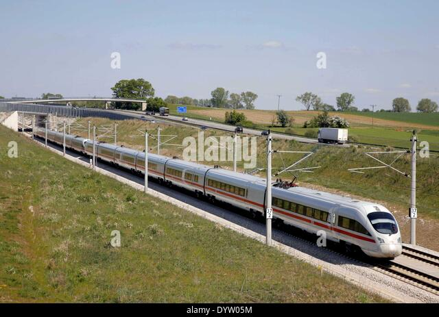 Intercity-Express (ICE) - Stock-Bilder