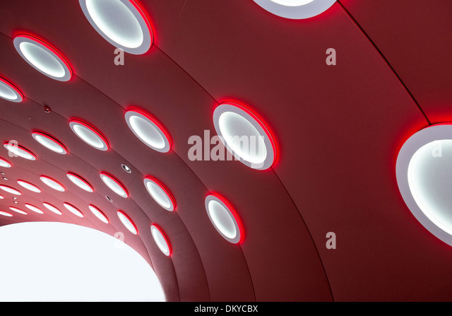 Architecture at trade fair - Stock Image