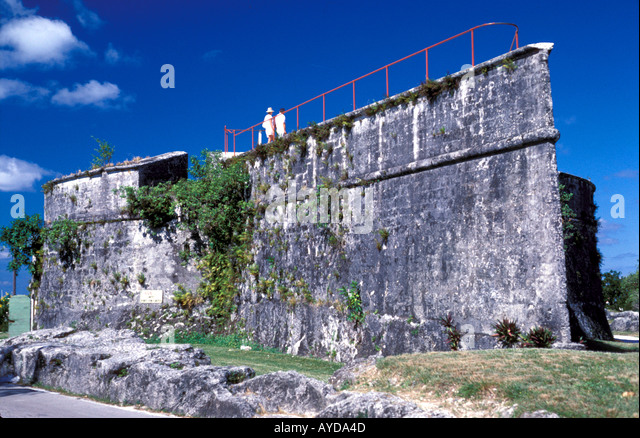 Bahamas Nassau Fort Fincastle - Stock Image