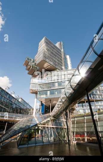 modernes Verwaltungsgebäude der NORD LB Hannover Niedersachsen Deutschland Hannover modern building of NORD - Stock-Bilder
