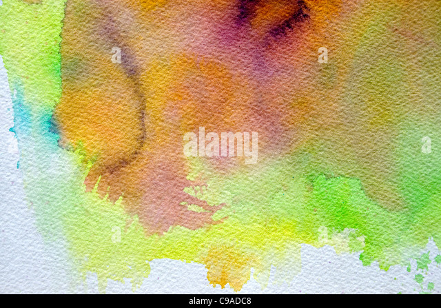 Water Color Art #3 - Stock Image