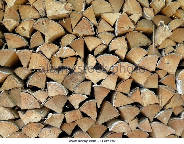 Detail Shot Of Firewood - Stock-Bilder