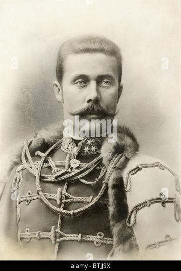 ARCHDUKE FRANZ FERDINAND, 1912 - Stock Image