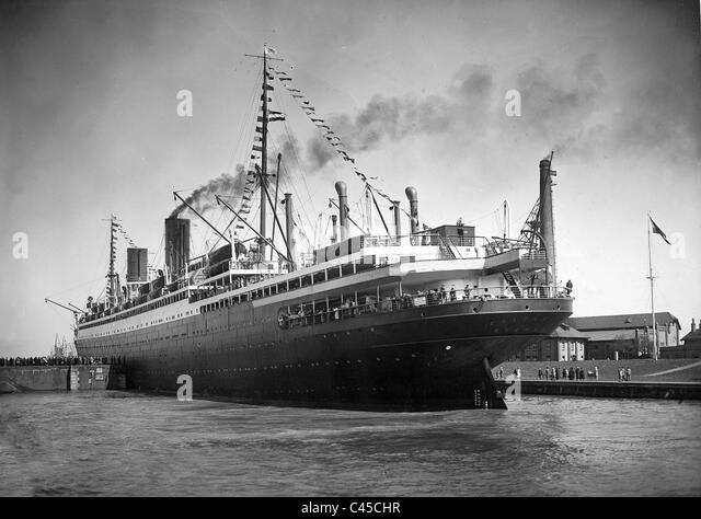 North German Lloyd ship the 'Columbus' - Stock-Bilder