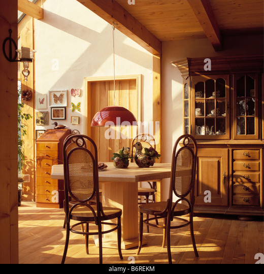 Thonet chairs stock photos thonet chairs stock images for Bentwood kitchen cabinets