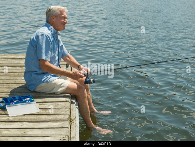 Fishing dock stock photos fishing dock stock images alamy for Fishing off a pier
