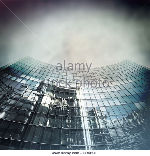 trade building - Stock Image