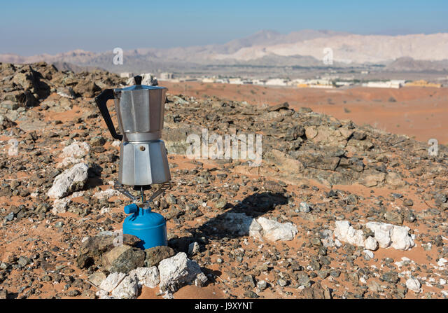 Italian Coffee Maker For Camping : Camping Gas Stock Photos & Camping Gas Stock Images - Alamy