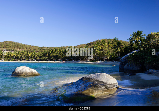 Caribbean, British Virgin Islands, Virgin Gorda, Little Dix Bay - Stock-Bilder