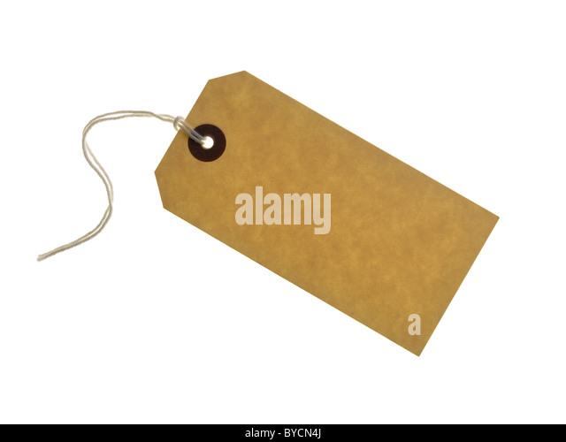 blank label - Stock Image