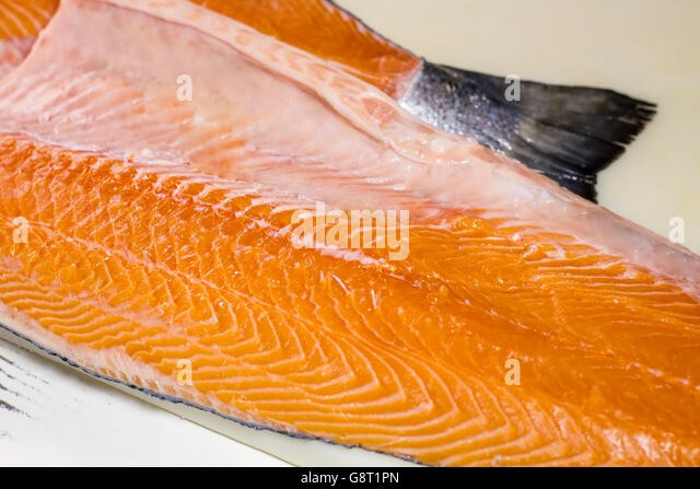 Japan supermarket fish stock photos japan supermarket for Fish without bones