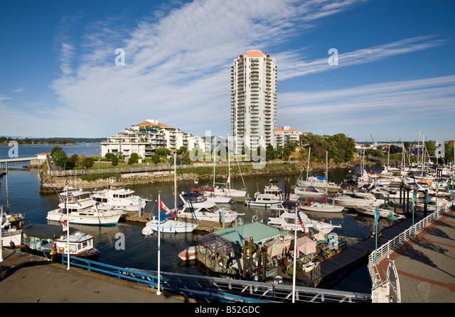 Nanaimo Vancouver Island British Columbia Canada - Stock Image