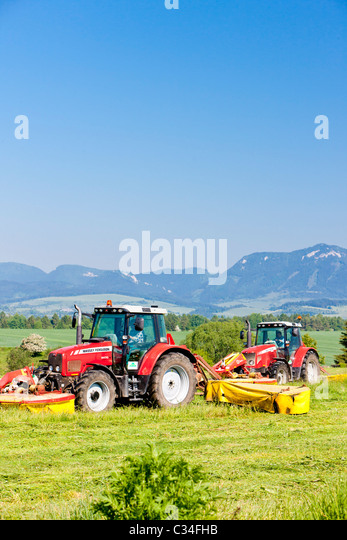 Landfills With Tractors : Tractors stock photos images alamy