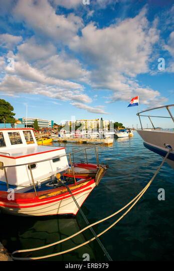 Biograd na Moru, Croatia - Stock-Bilder