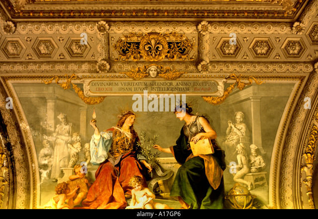 Vatican mural painting wall rome stock photos vatican for Clarks mural fresco