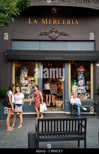 Clothing stores in soho