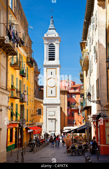 Europe, France, Alpes-Maritimes (06), Nice, Old Town - Stock Image