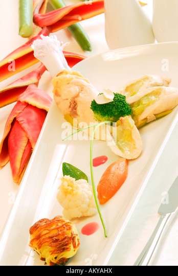 Nouvelle cuisine stock photos nouvelle cuisine stock for Cuisine nouvelle