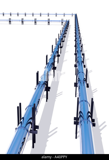 Pipelines - Stock Image