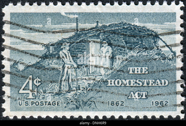 Payment hut stock photos payment hut stock images alamy for Is there still a homestead act