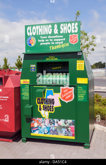Salvation Army Drop Box Jersey City