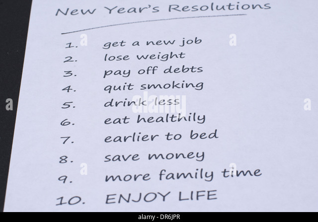 new year resolution writing paper It's that time of year again—the new year, when many of us set  students' papers  about new year's resolutions, a short writing task that i give.