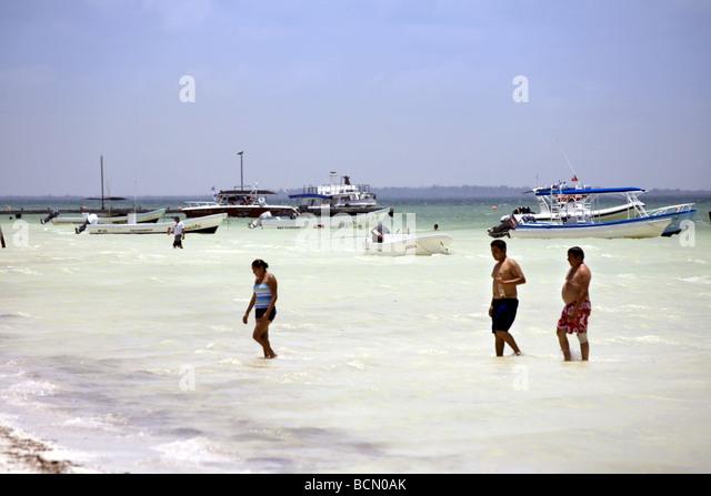 Holbox Island, Quintana Roo, Yucatán Peninsula, Mexico - Stock Image