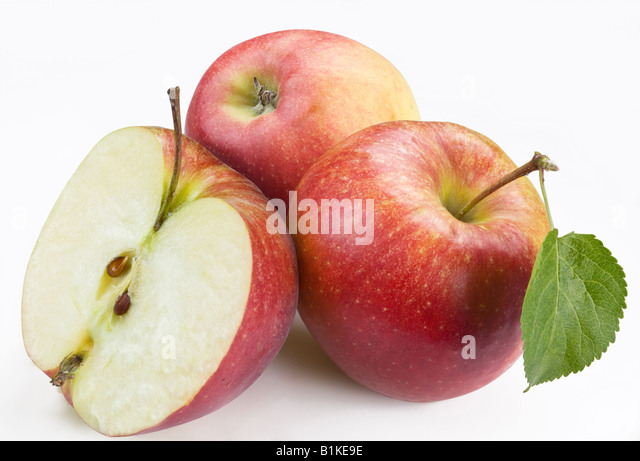 Red apple - Stock Image