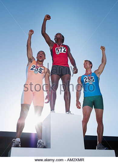 Podium Athlete Stock Photos & Podium Athlete Stock Images ...