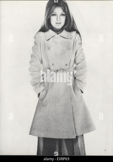 magazine plate 1960s uk womens fashion magazine plate 1960s uk womens ...