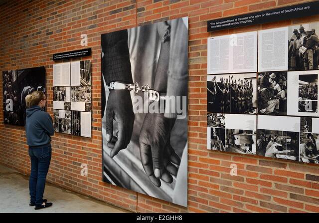 South Africa Gauteng province Johannesburg Apartheid Museum - Stock Image