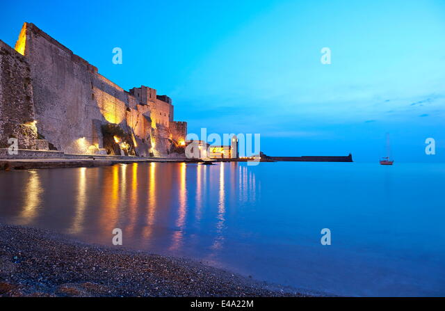 collioure france stock photos collioure france stock images alamy. Black Bedroom Furniture Sets. Home Design Ideas