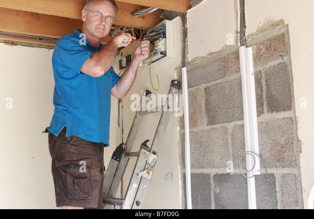 Old worker joe electrician fucks his teen intern at work 9