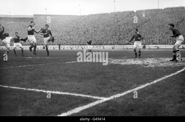 Soccer - League Division One - Chelsea v Burnley - Stamford Bridge - Stock Image