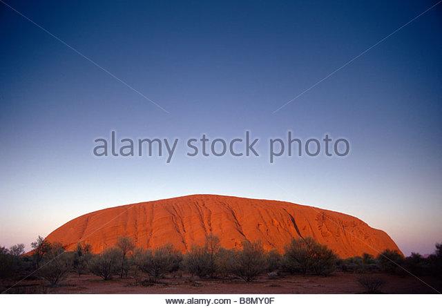 Uluru (Ayers Rock), Australia - Stock Image