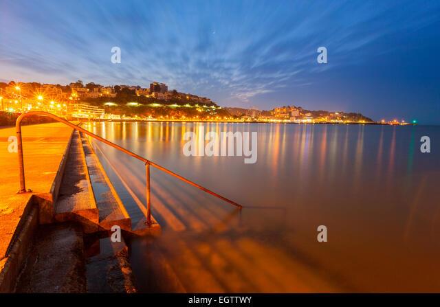 Torquay, Devon, England, United Kingdom, Europe. - Stock Image