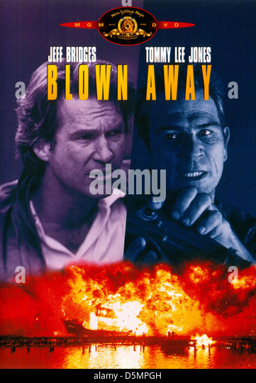 JEFF BRIDGES & TOMMY LEE JONES BLOWN AWAY (1994) - Stock Image